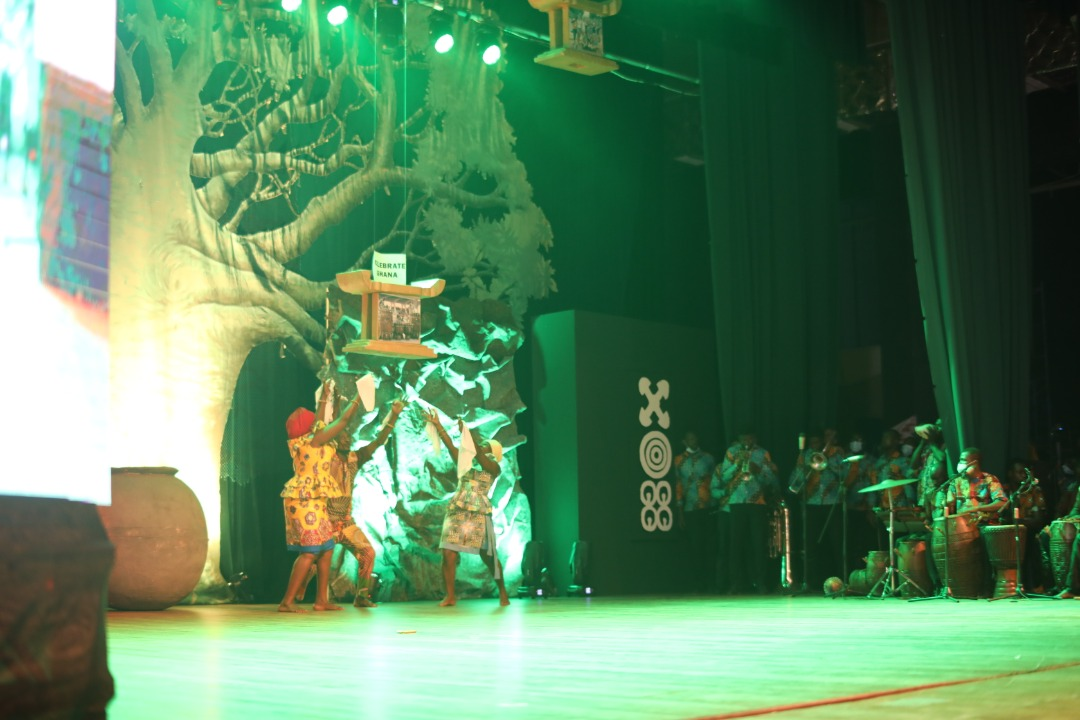 Ghanaian Culture Takes Centre Stage at Unveiling of Beyond the Return Pillars