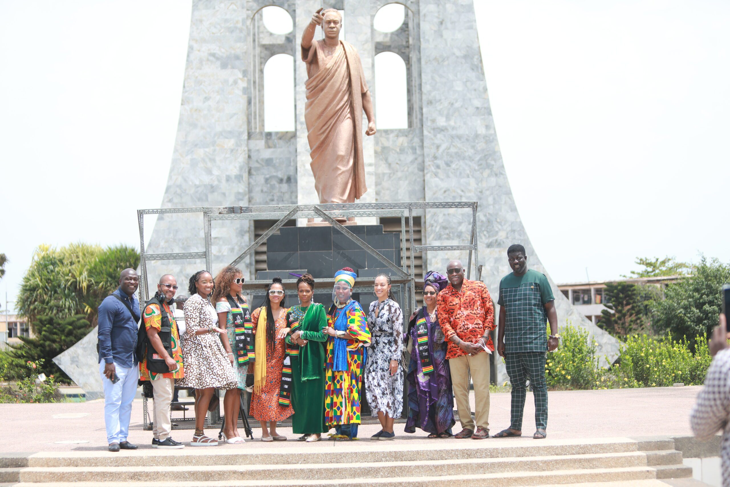 Queen Afua Ends 10-day Trip in Ghana