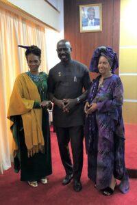 Ghana's Diaspora Affairs Office Meets With Queen Afua's Wellness Delegation