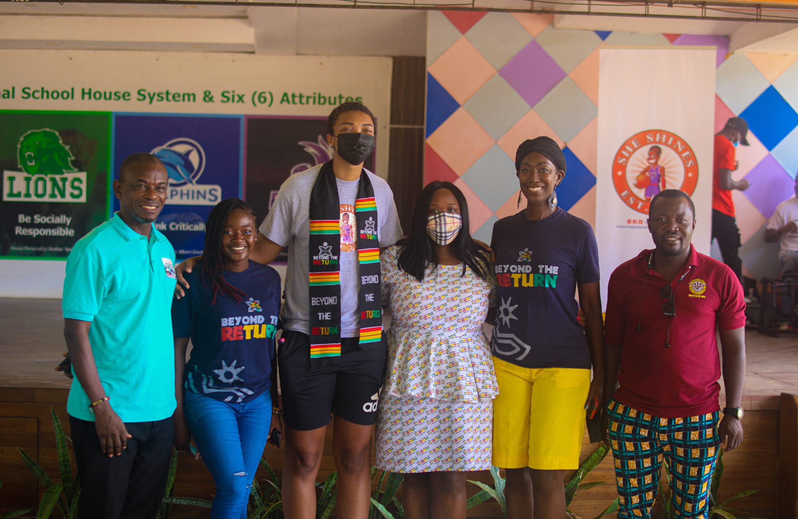 How WNBA Player Imani McGee-Stafford is Giving Back to Young Women in Ghana