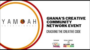 Ghana's Creative Community Network Event – Cracking the Creative Code