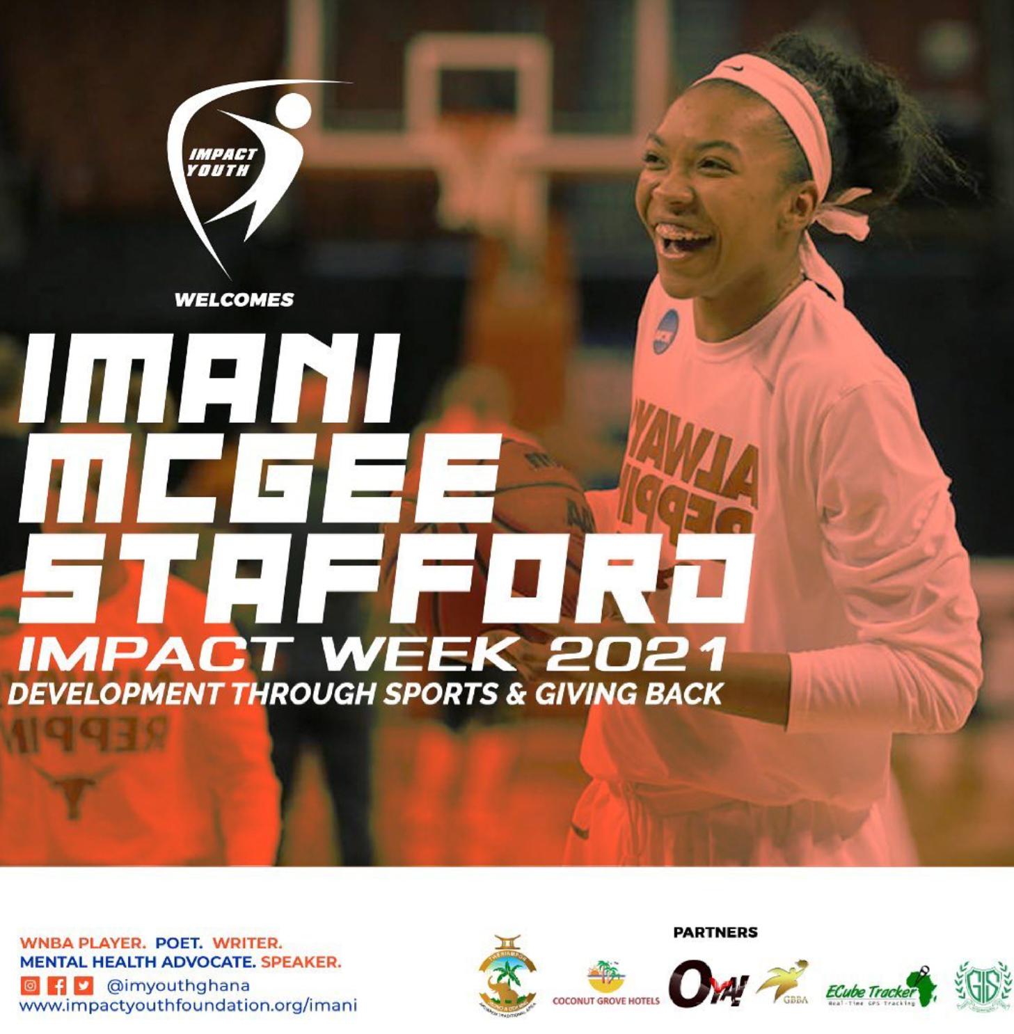 WNBA Player Imani McGee-Stafford Comes to Ghana