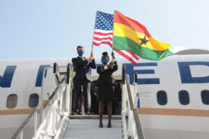 United Airlines Relaunches its Operations to Ghana