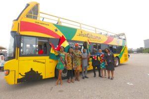 Accra Double Decker Bus Tour Officially Open