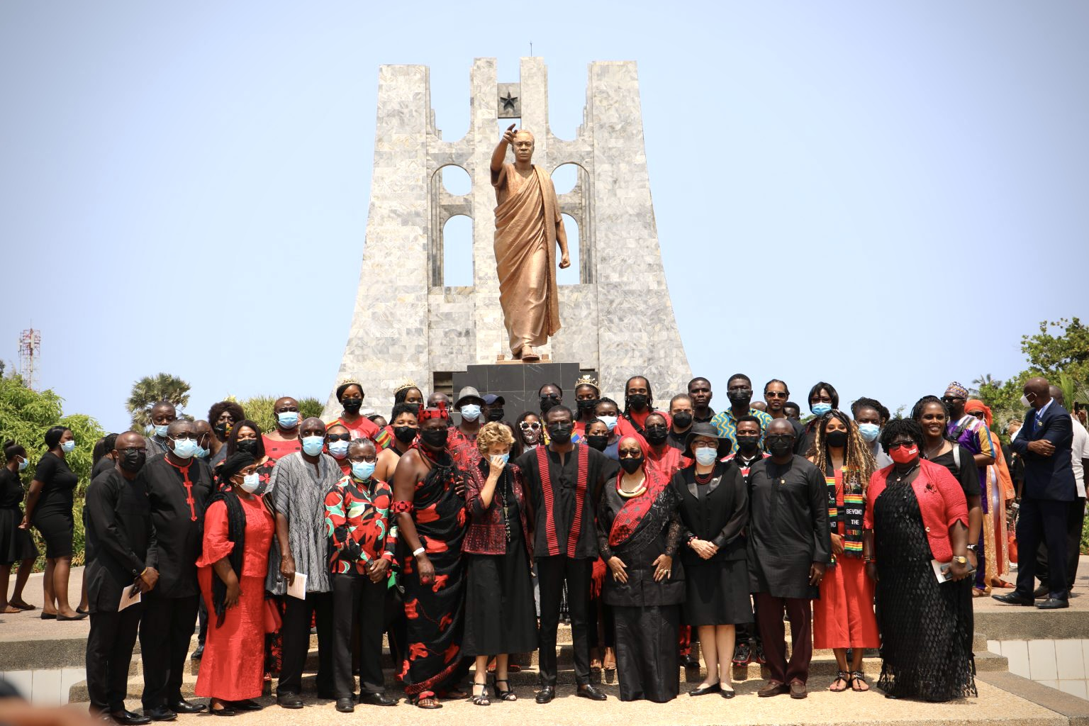 PANAFEST Events Begin with Wreath Laying Ceremony Honouring Pan-African Leaders