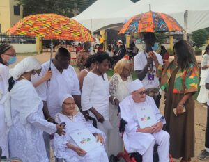 Tulsa Race Massacre Survivors Honoured with Traditional Naming Ceremony in Ghana