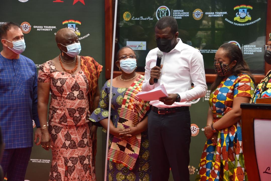 Media Launch of Ghana's First National Tourism Customer Service Week at Labadi Beach Hotel