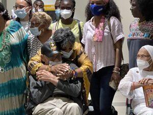 Tearful Goodbye to Ghana as Tulsa Massacre Survivors Return to the U.S.